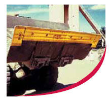 Bucyrus Blades Carbide Embedded Edges