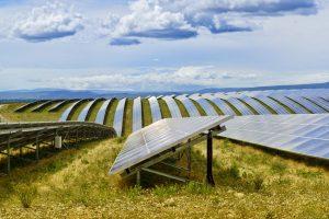 Solar field construction