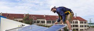 Solar construction and COVID-19