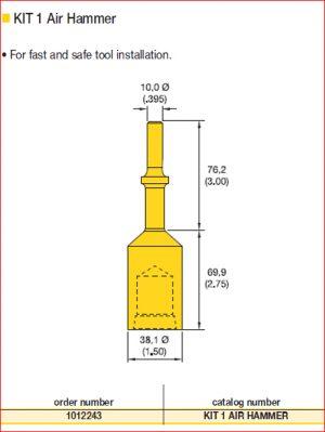 kit air hammer